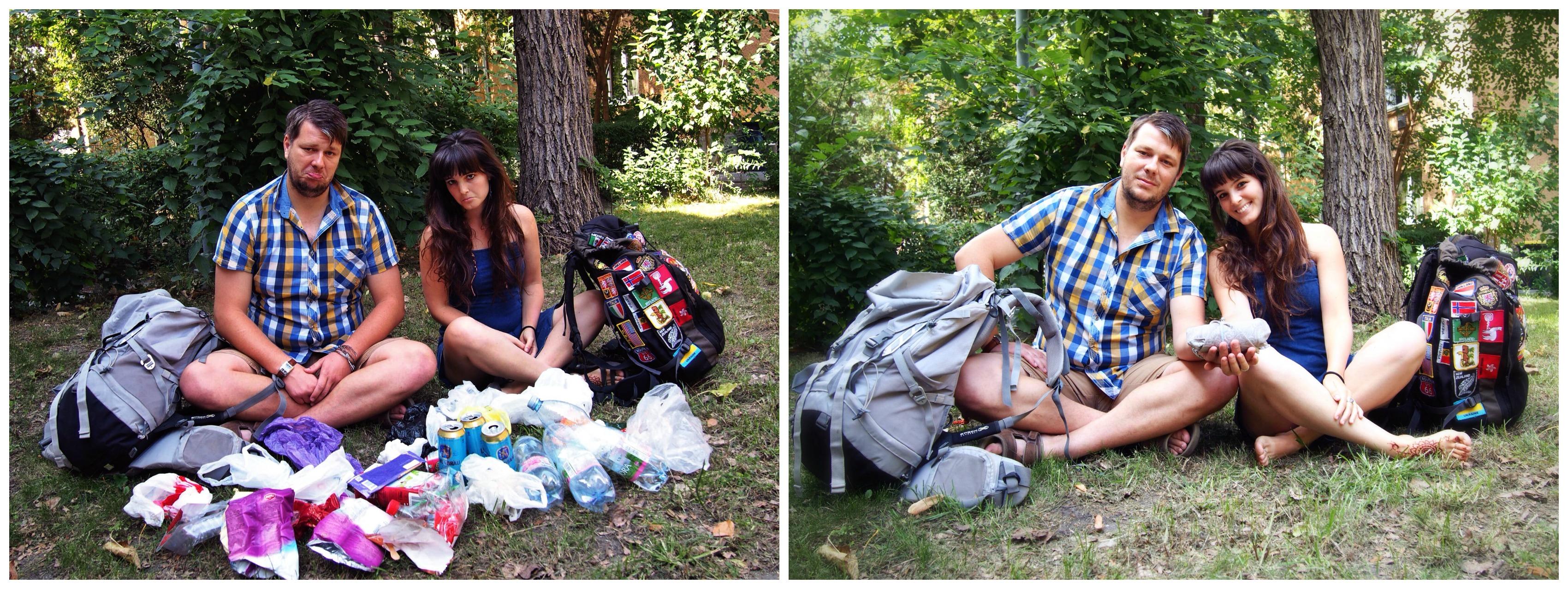 hulladékmentes utazás
